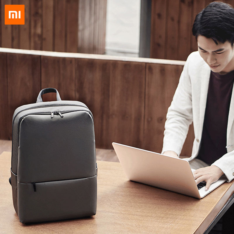 Xiaomi classic business backpack 2 laptop bag travel large capacity waterproof leisure Shoulders outdoor hiking backpack