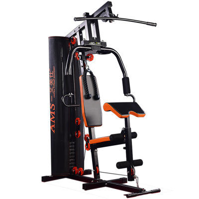 Home Gym Workout System 45kg 68kg weight stack machine multi functional Strengthen trainer