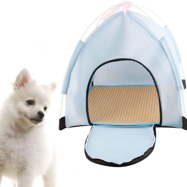 Pet Playpen Indoor Mesh Tent House Dog House Tent Playground for Dogs Cats