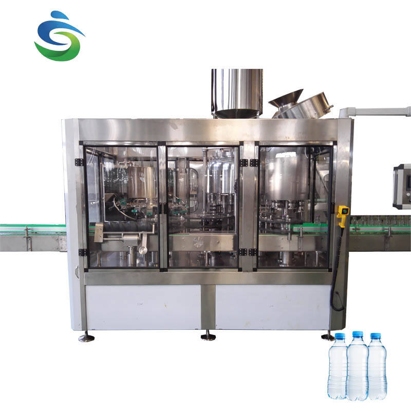 used spring saline mineral water bottle filling machine/plant/line