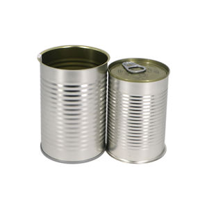 7113# wholesale Empty Food Grade Tin Can metal can Without Printing with easy open lid for food packaging