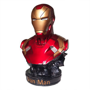 Marvel Character Resin Figure Red Color Collection Toys Action Figure