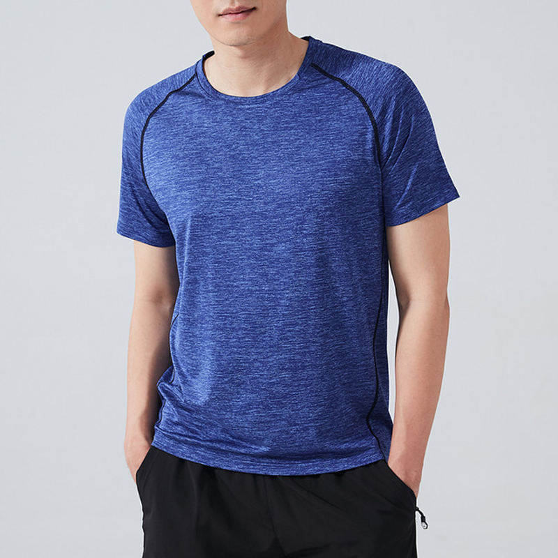 Quick Dry Gym Shirts Sport T Shirts Men Short Sleeve Running T-Shirts Workout Training Tees Fitness Top Sport T-shirt