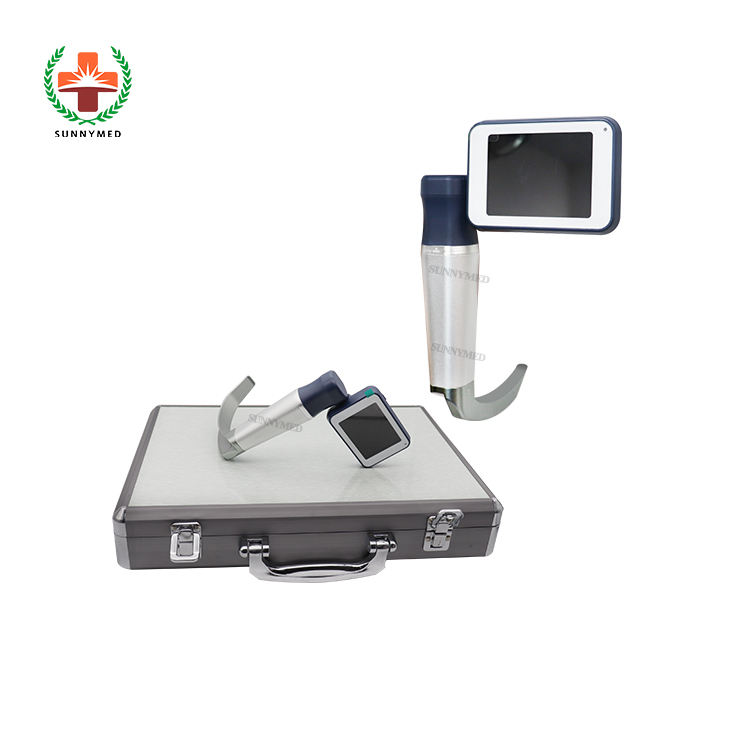 SY-P020N 3 inch LCD ENT video laryngoscope with 6 reusable blades