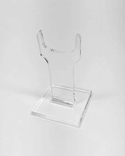 Single Clear Acrylic gun display stand Antique Displaying Angled or Straight