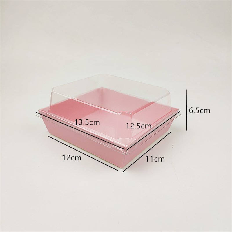 Estick Rose Foodmeal Flat Pack Paper Es Strawberry Promotion List Clear Packing Boxes With Nylon Handle