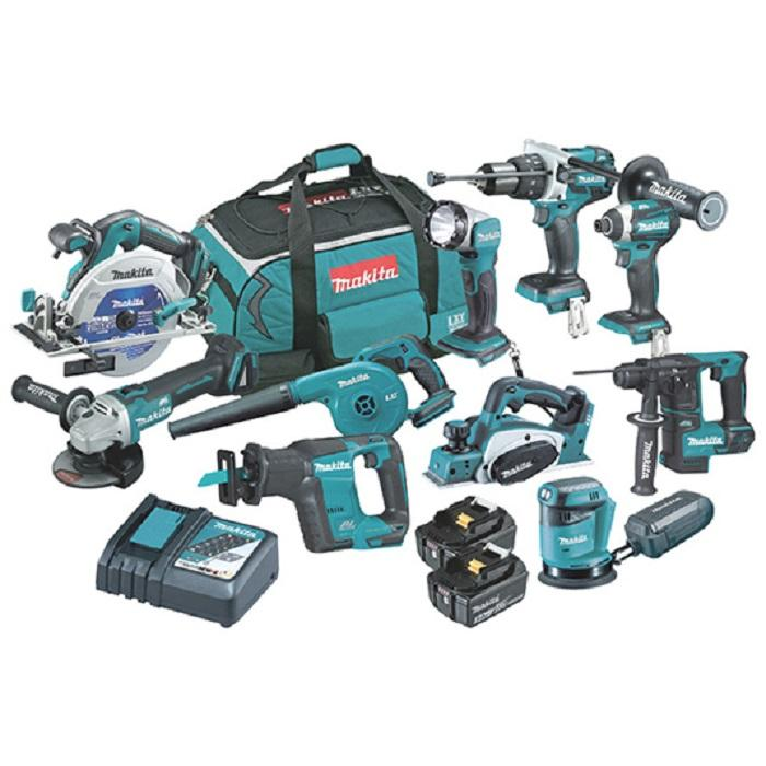 Makitas LXT1500 18-Volt LXT Lithium-Ion Cordless drill Combo Kit 12 pieces