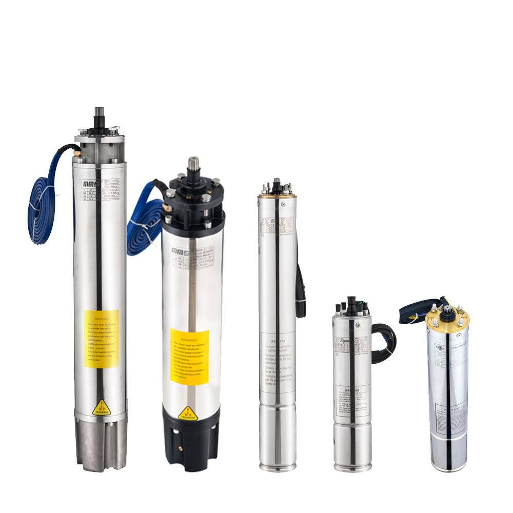 4 Inch 0.5HP-3HP Single Phase Deep Well Water Submersible Pump