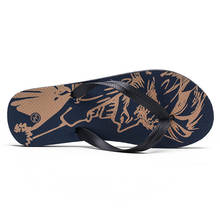 Custom Comfortable Beach Printed Flip Flops Oem Plus Size Casual Hawai Slippers Shoes