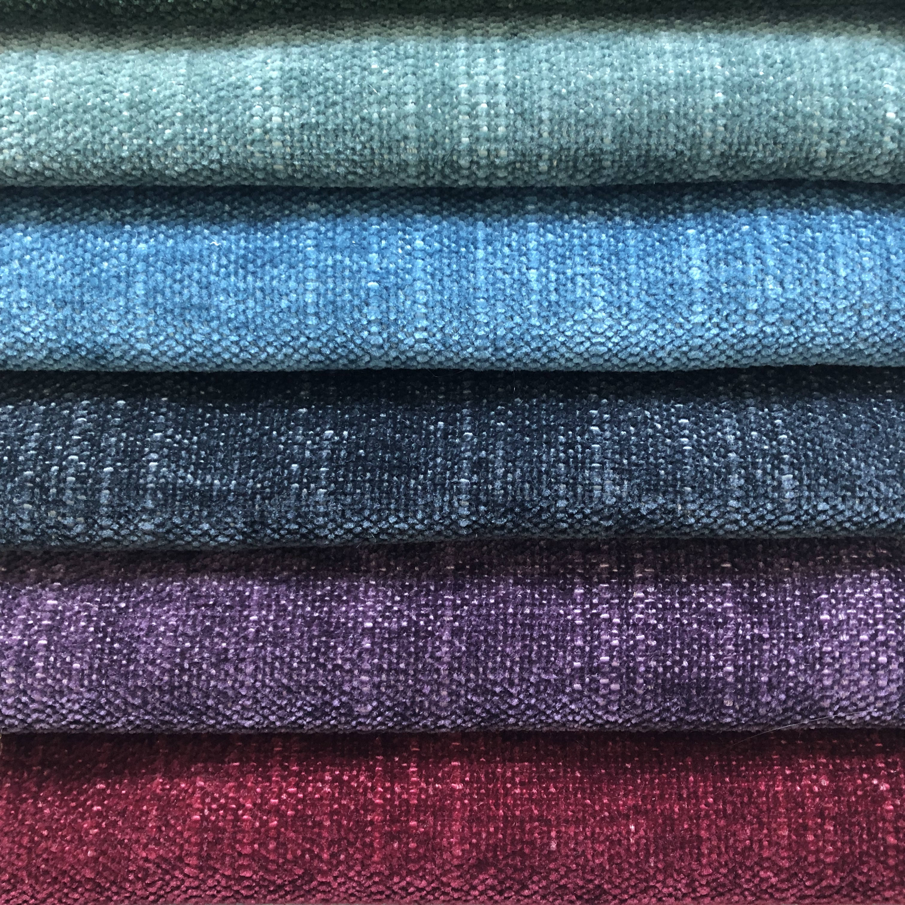 plain dyed soft polyester fabric chenille fabric for sofa upholstery