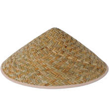 Natural seagrass conical Vietnamese straw hat