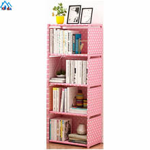 Modern Large Space DIY Design In Book Shelf 3-tier Storage Cube Closet Organizer