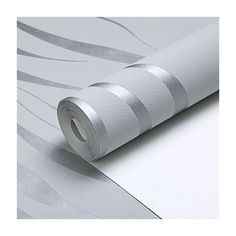 Modieuze Grijze Moderne <span class=keywords><strong>3d</strong></span> Wallpapers Muur Coating Home Hotel Zitkamer Vliesbehang Sticker