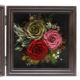 Valentines Day mothers day gift luxury birthday rose photos Frame flower preserved flower photo frame