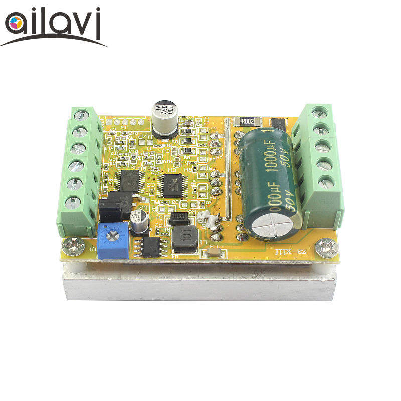 BLDC Three-phase Brushless Non-Hoare DC Motor Controller 12V24V48V Motor Electric Control Drive Plate 350W
