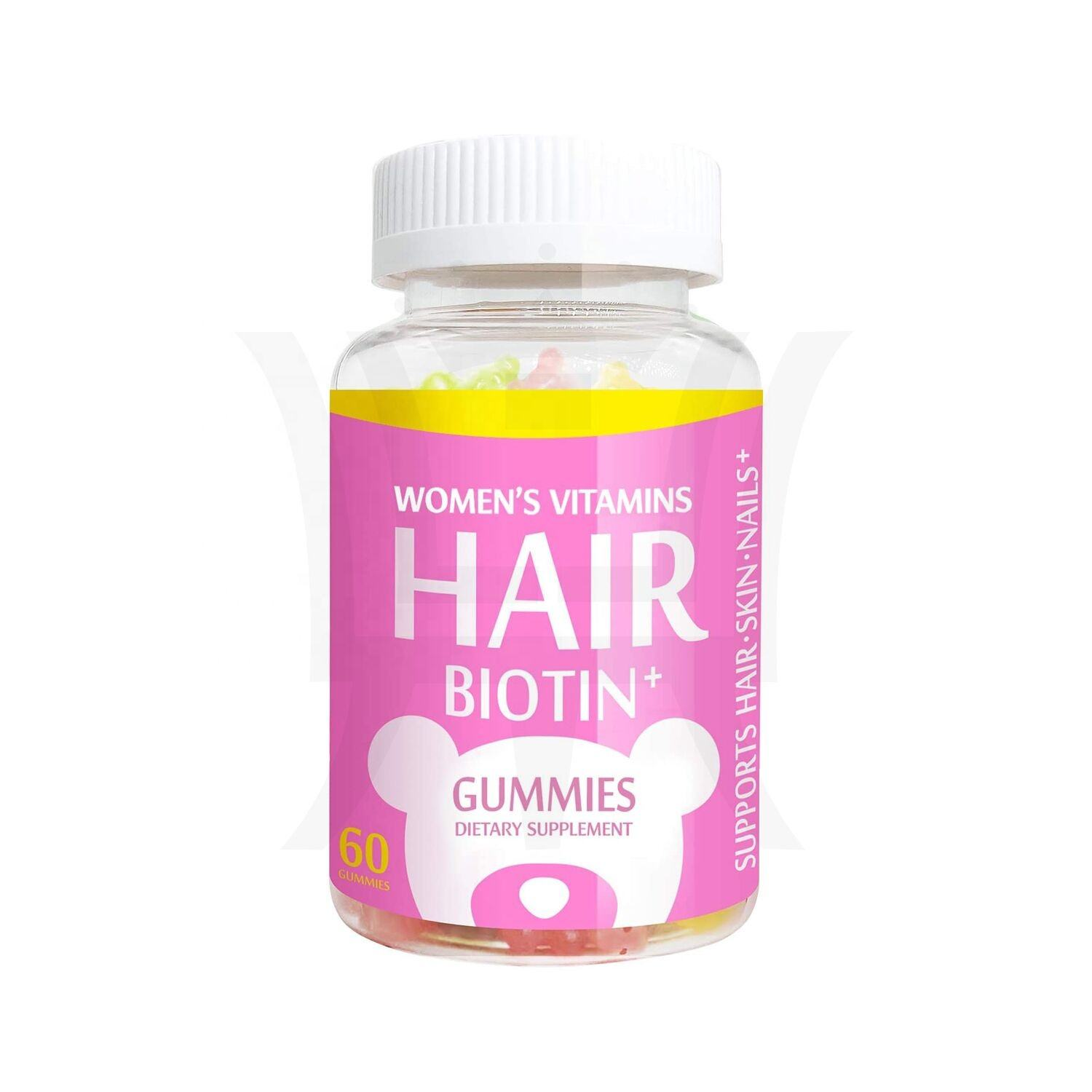 VegePower Cheveux <span class=keywords><strong>Vitamines</strong></span> Gummies Biotine <span class=keywords><strong>10</strong></span>,000 µg de Vitamine C & E pour Cheveux Sains Naturel Fruits Faveurs