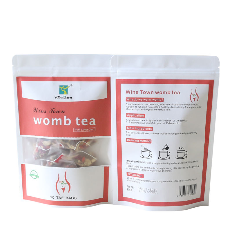 Custom Bulk Natural Organic Womb Tea for Relief Women Period Pain, Relief Menstrual Cramp
