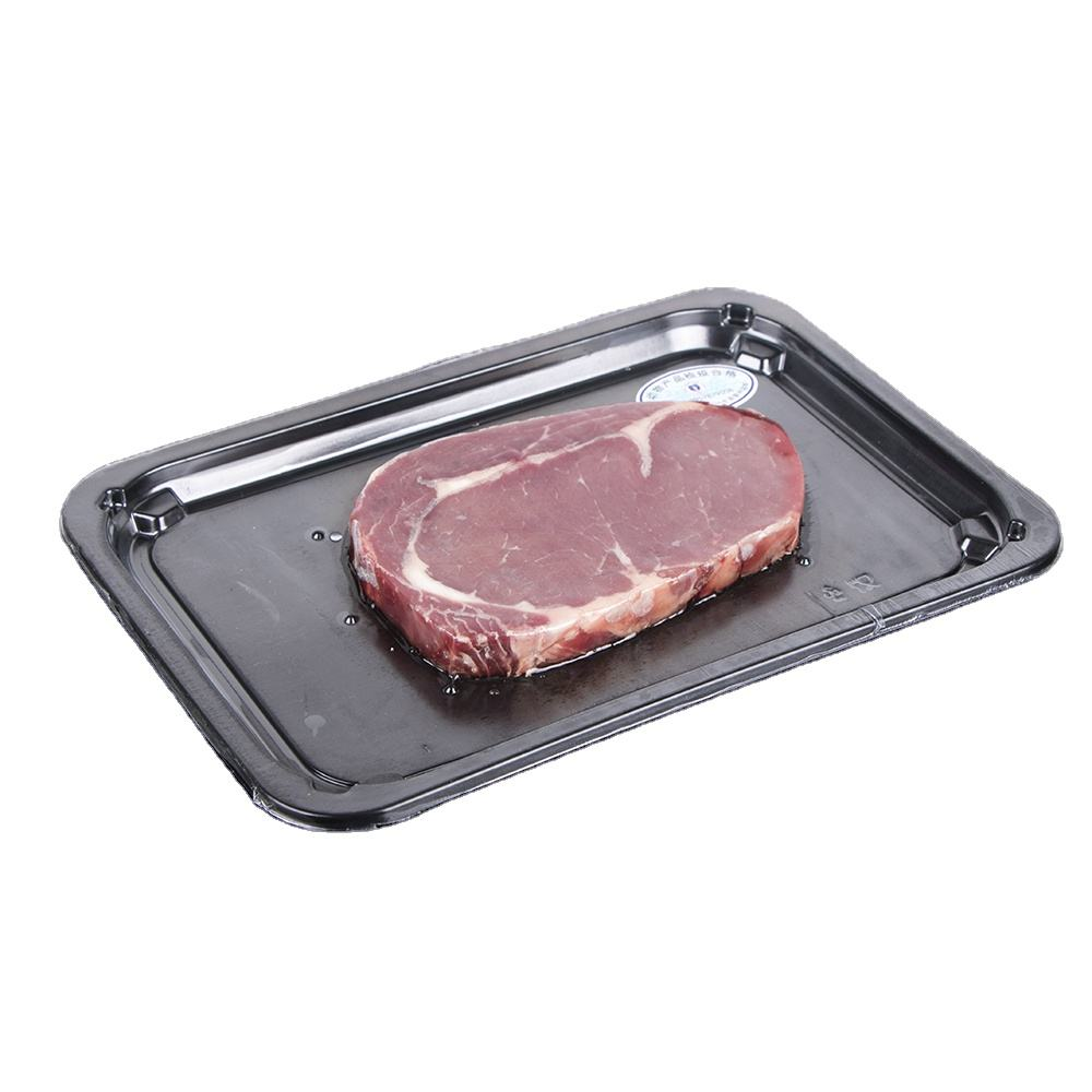 Adhesive Packaging Steak Vacuum meat packing tray Seafood Plastic Pp pet Box tray