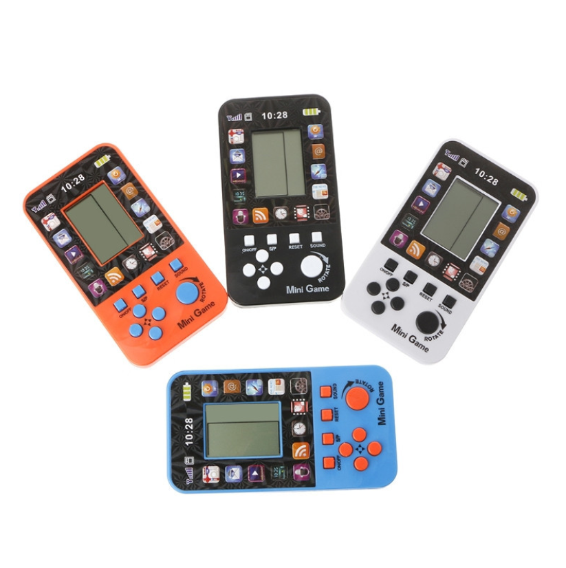 Portable Children's Handheld Game Players Tetris Kids Handheld Video Game Console Hand-held Gaming Device For PSP