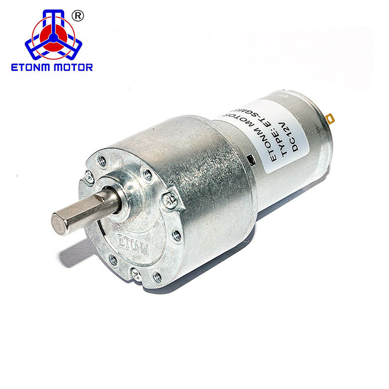 metal gears 12V customized rpm dc gear head motor for home appliance