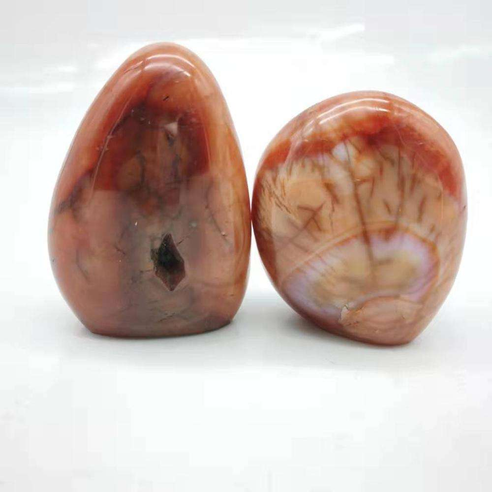 Natural Carnelian Free Form Red agate Crystal For Decoration