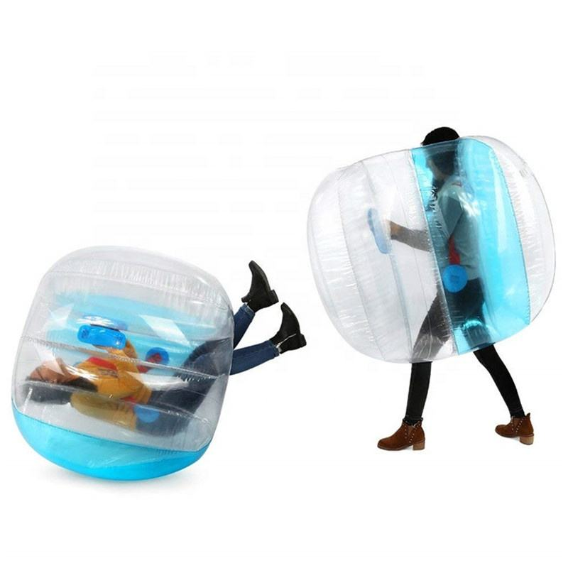 Toddlers Outdoor Game Zorb Ball Inflatable Bumper Ball 1.2m Human Knocker Bubble Soccer Balls