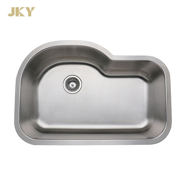Big Stainless Steel Single Bowl Kitchen Sink With B shape
