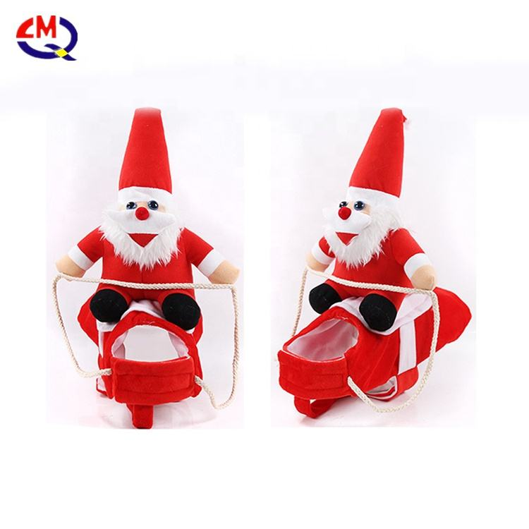 Christmas Dog Clothes For Dog Pet Xmas Costumes Red Coat Clothing Cute Puppy Outfit For Dogs Pets