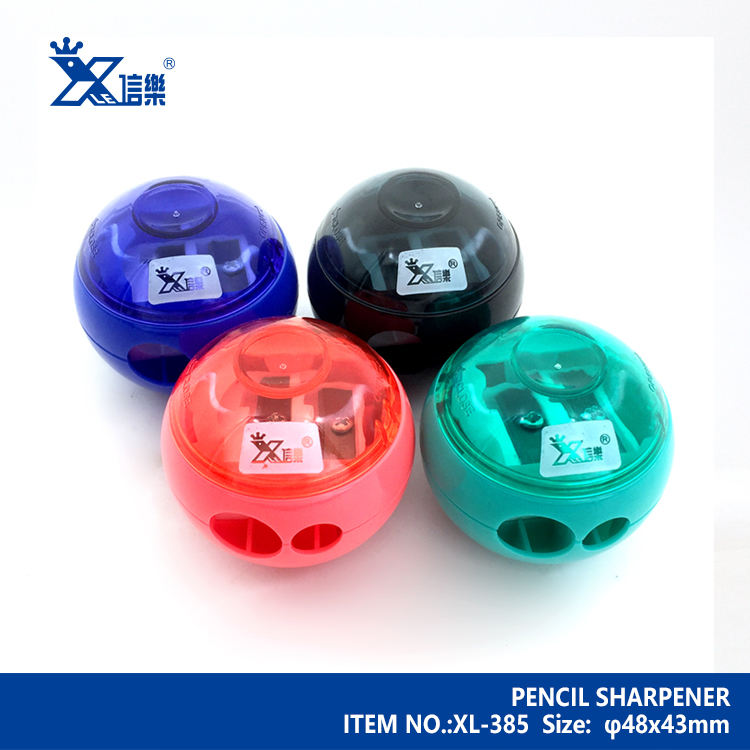 Packaging Customization [ Pencil Sharpener ] Design Pencil Sharpener Cartoon UFO Flying Disk Plastic Pencil Sharpener Office School Stationery Supplies