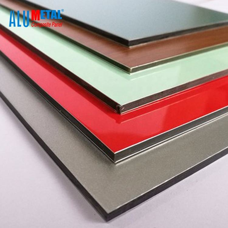 3mm 4mm PVDF Aluminum Composite Panel for external wall cladding panel ACM Board