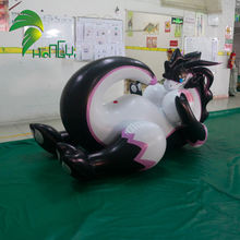 PVC Customized Sealed Hongyi Inflatable Laying Sexy Dragon Toy