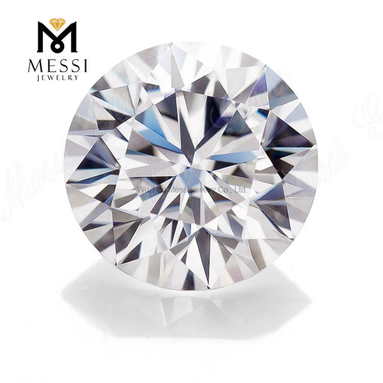 Messi Jewelry top quality loose stone VVS DEF wholesale price white round brilliant cut diamonds moissanite