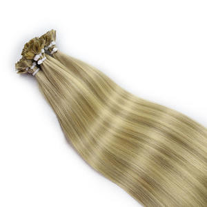 Vast Top Quality Direct Factory Wholesale Raw Virgin Remy Russian Hair Double Drawn Stick Flat Tip Hair Extension