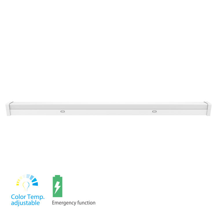 20W 40W 60W tubo <span class=keywords><strong>de</strong></span> <span class=keywords><strong>emergencia</strong></span> LED-Lámpara CCT ajustable Techo Luz <span class=keywords><strong>de</strong></span> la Oficina la <span class=keywords><strong>serie</strong></span> LED enlazable Batten