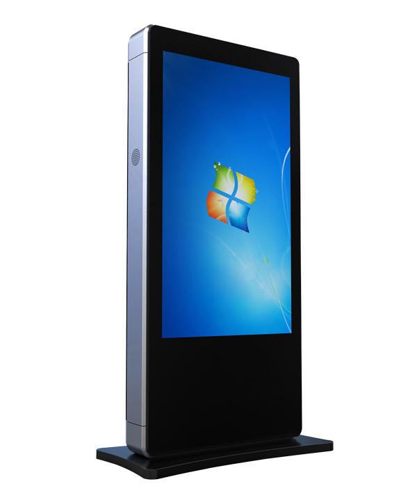 Resistente agli agenti atmosferici Interattivo HD Stand Alone <span class=keywords><strong>LCD</strong></span> tv esterna chiosco touch screen