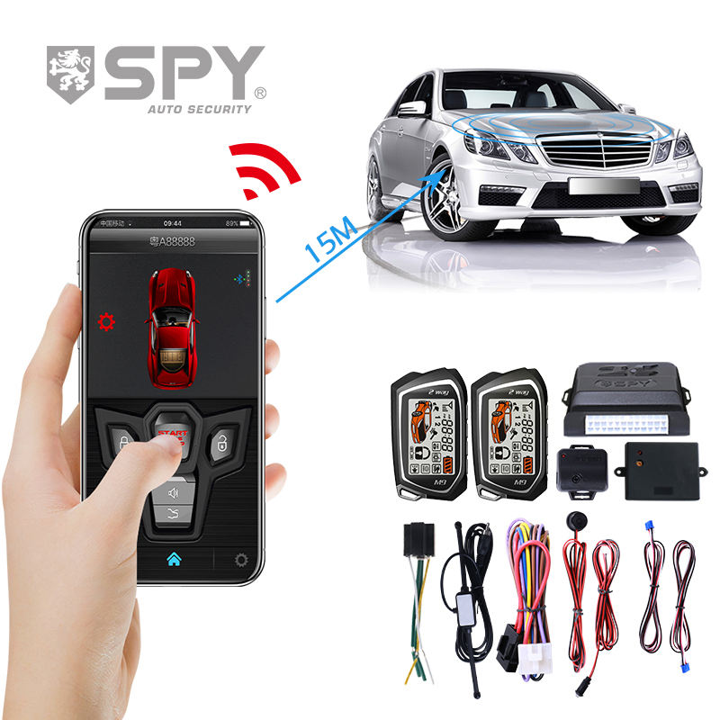 SPY 2 Way LCD Remote Control Auto Security system Door Lock Unlock Car Alarm System