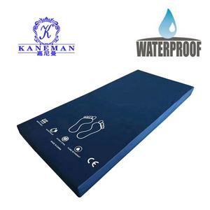 Hospital anti mite twin size PU foam water proof PVC covered medical mattress