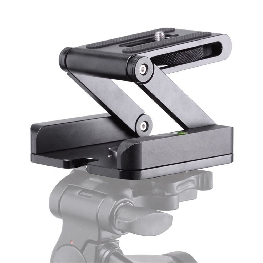 Selens Pro Z Tilt Head 360° Rotary Quick Release Plate Stand Mount Tripod Head