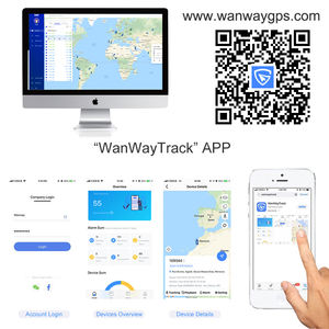 WanwayTech WanWayTrack APP GPS Tracker With SDK And API Tracking Software Platform For Europe And South America