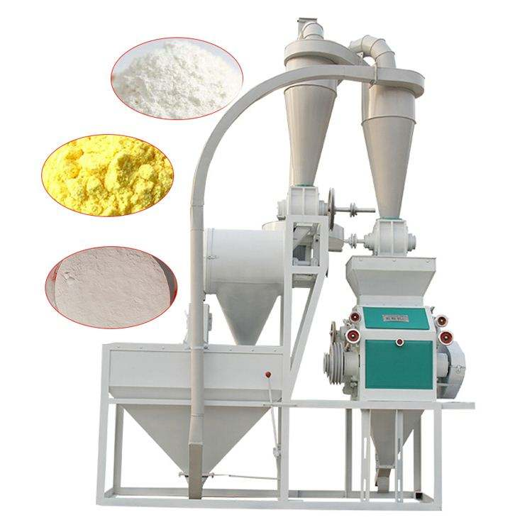Egypt Running 300-400kg/hour Wheat Maize Flour Mill Milling Production machine