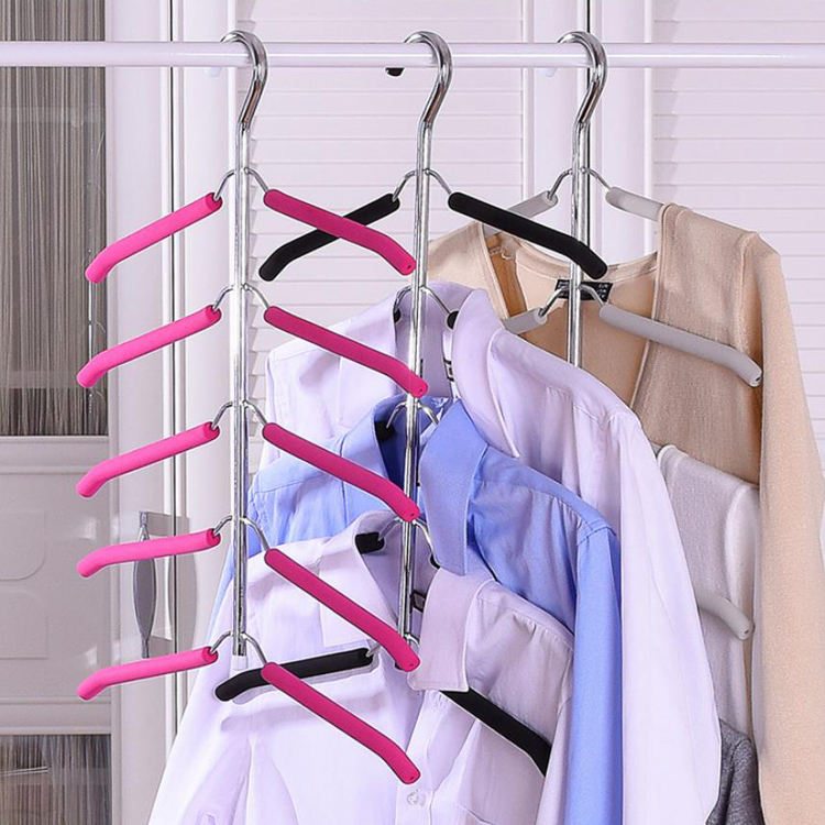Powerful Large capacity storage shirt Coat Hangers