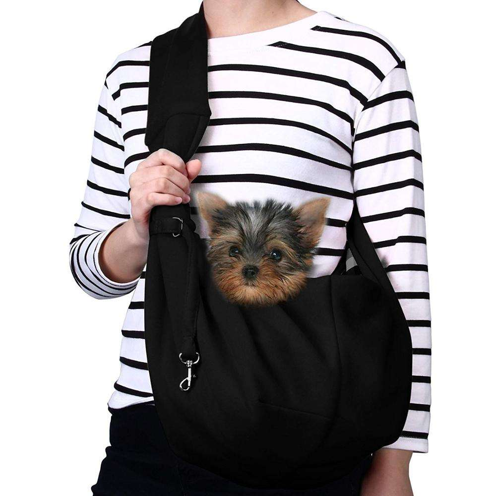 2020 hot selling custom 2 10 ibls Kleine Hond Kat Carrier Sling Handen Gratis Pet Puppy Outdoor Reistas Tote omkeerbare sample cou