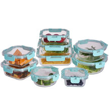 Amazon best selling meal prep borosilicate glass food storage container set