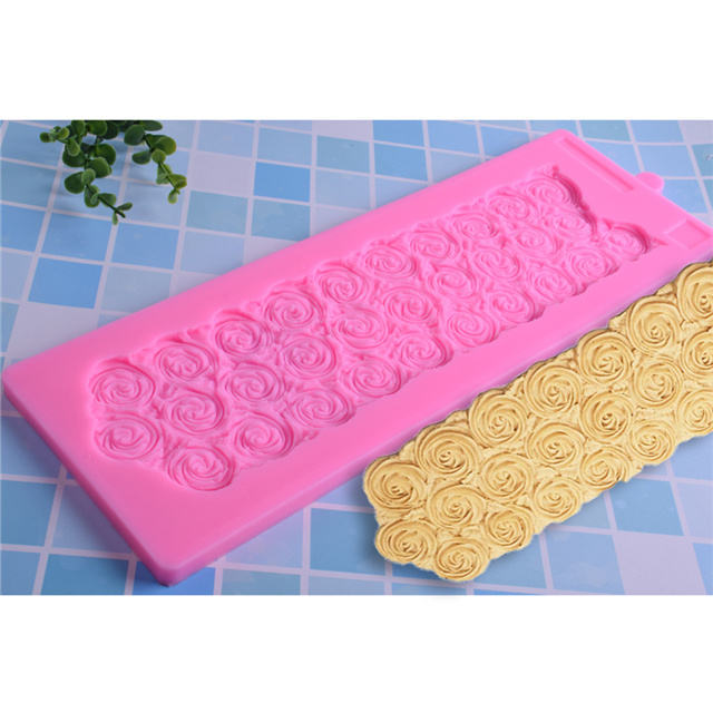 High Quality Wedding Cake Rose Decoration Cake Making Fondant Mold Kitchen Accessories