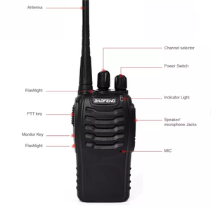 2 channel radio Baofeng walkie talkie Baofeng BF-888S