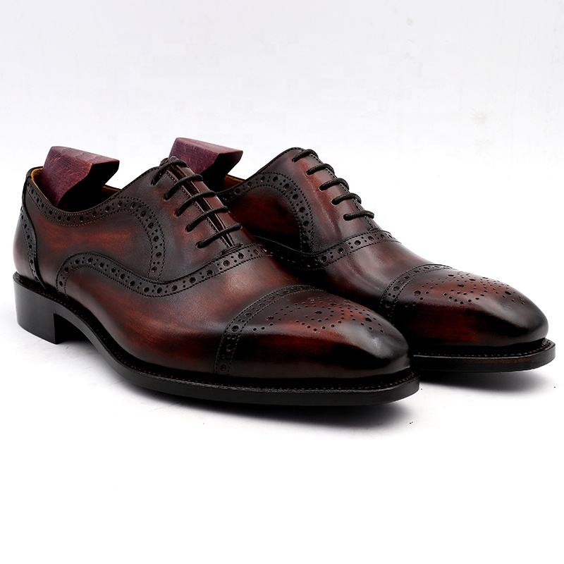 Cie Ox09 Customized Goodyear Welted Handmade Dress Oxford Shoes for Men