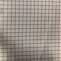 100%polyester fiber 0.5 grid Anti-static Plaid Fabric with Chemical Filaments