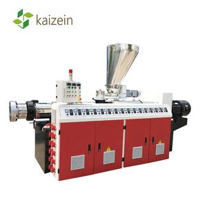 Kaizein PVC Ganda Screw Extruder Mesin