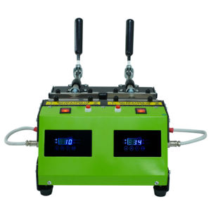 Doppel Heizung Matte Station Digital LCD Manuelle Sublimation Becher Hitze Presse Maschine 12 in 1 Digitale Hitze Presse Maschine Sublimation