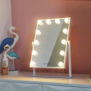 Tabletops LED Hollywood Style Vanity Mirror with Lights